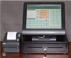 caisse enregistreuse a écran tactile