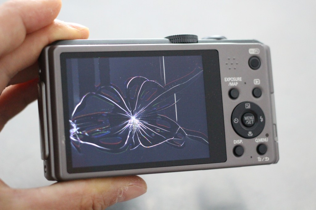 reparation d'ecran casse panasonic