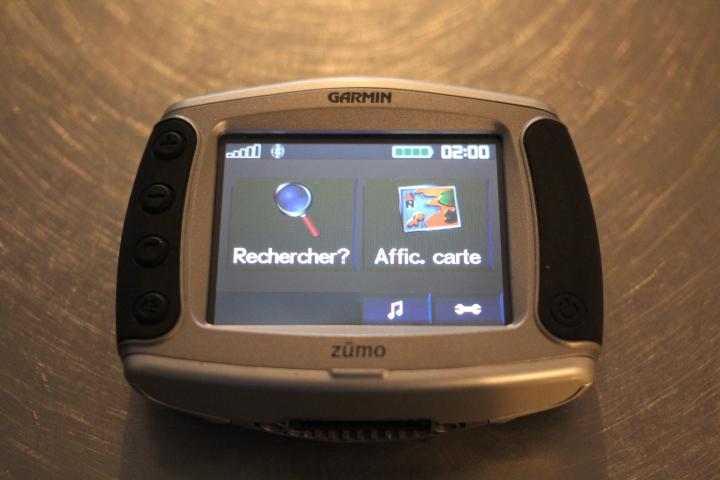 GPS garmin zumo 500