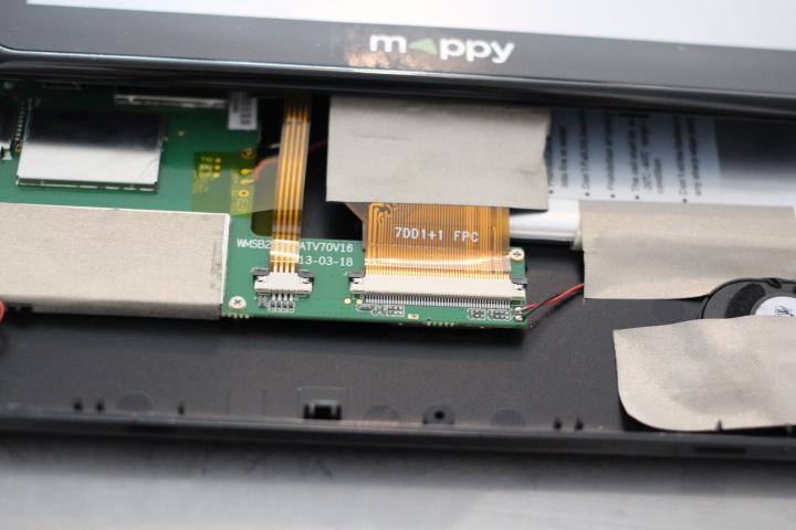 gps mappy nest plus tactile