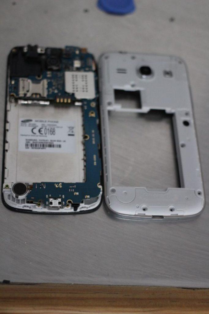 ecran casse Samsung Galaxy core plus