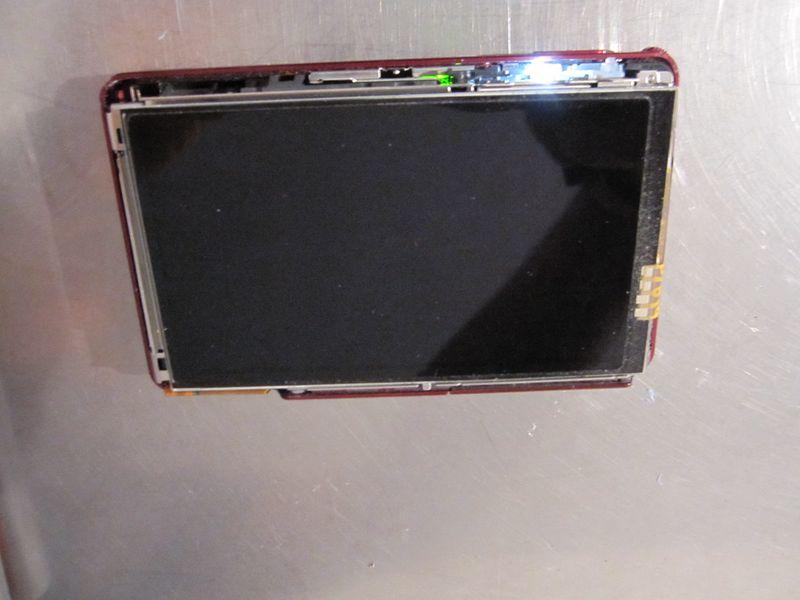 problème éclairage appareil photo compact sony tx300