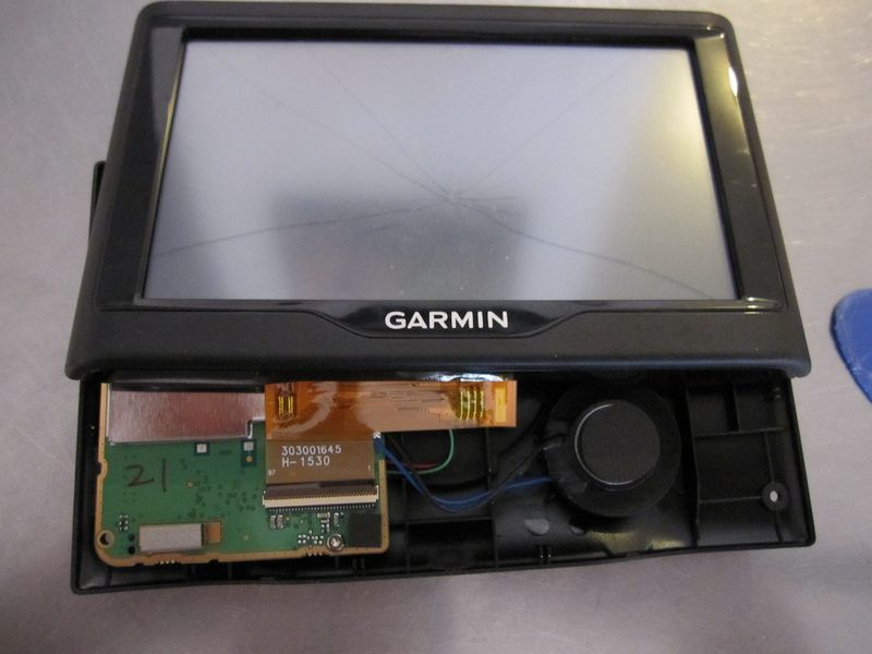 demonter gps garmin
