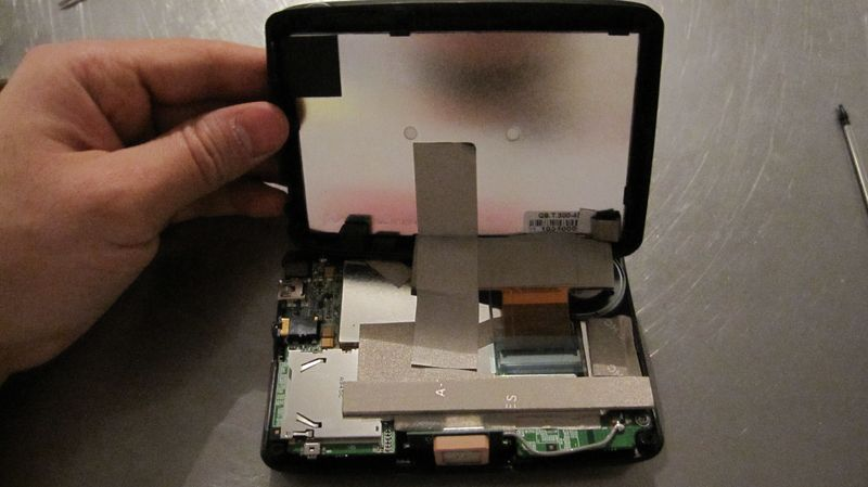 Démontage et réparation GPS snooper S1000
