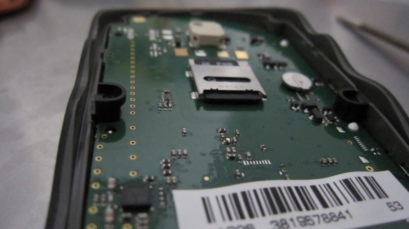 take a look to the mainboard of the navigator